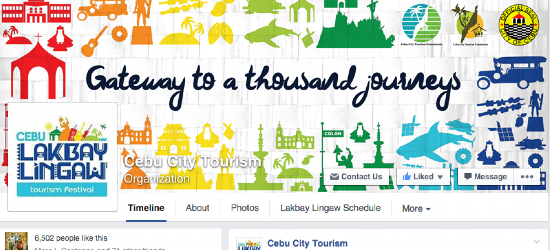 Cebu City Tourism Commision's Lakbay Lingaw Social Media Program
